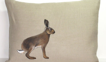 Hand painted cushions