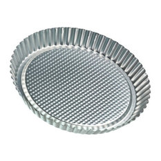 Zenker Tin Plated Steel Flan and Tart Pan, 11 Inch