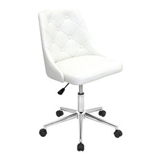LumiSource Marche fice Chair White fice Chairs