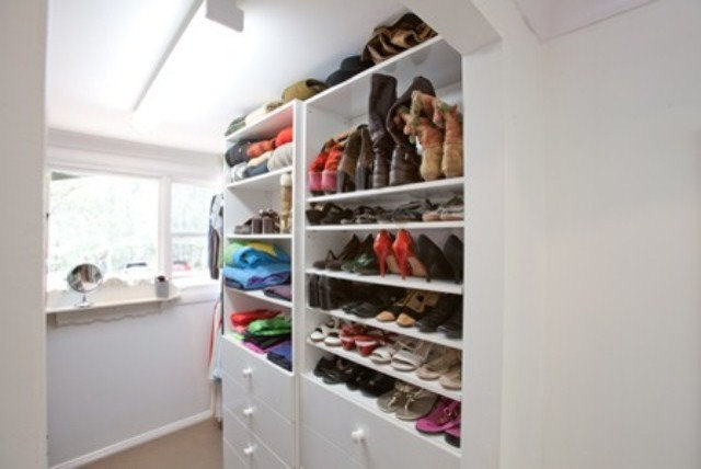 Traditional Wardrobe by Clever Closet Company