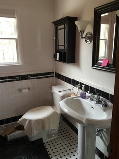 Help Redesigning Small Bathroom