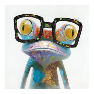 Smart Frog Wall Decor