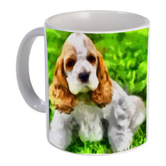 Cocker Spaniel 'Hogan' Mug, Ceramic Coffee/Latte, 11oz