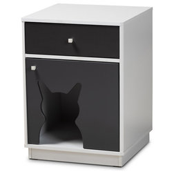 Contemporary Litter Boxes And Covers by Baxton Studio