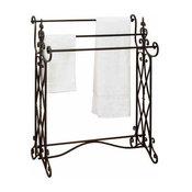 """Metal Towel Rack 36""""H, 27""""W"""
