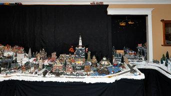 Christmas Holiday Village Decor