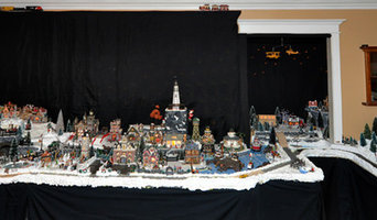 Christmas Holiday Village Decor