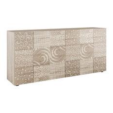 Miro II Decorative Sideboard, 181 cm, Samoa Oak