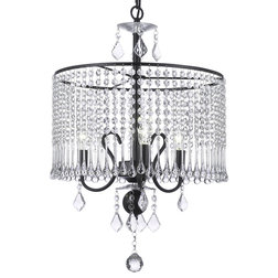 Unique Traditional Chandeliers Contemporary Light Crystal Chandelier With Crystal Black