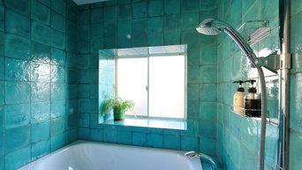 S様邸/タイルのデザインにこだわった浴室・LDKリフォーム