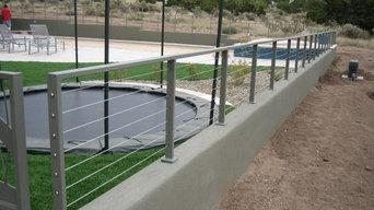 Exterior Pool Railing