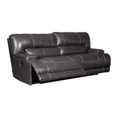 McCaskill Reclining Power Sofa in Gray U6090047