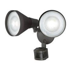 Gamma Bronze 2L Motion Sensor Dusk to Dawn Outdoor Security Flood Light