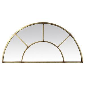 Half-Moon Mirror, 92x46 cm