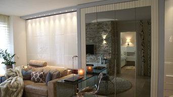 2 Zimmerwohnung - Wohnzimmer - optische Wohnraumvergrößerung
