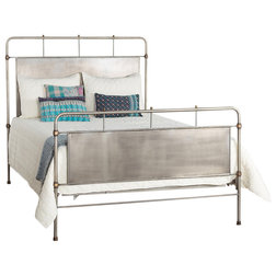 Nice Industrial Panel Beds Chelsea Queen Bed