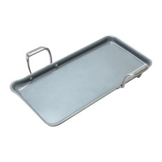Chantal Induction 21 Heavy Gauge Steel Tri-Ply Griddle with Ceramic Coating