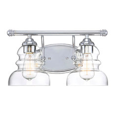 Millennium Lighting Brighton Vanity, Chrome