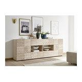 Miro (Oak) 2 door 4 drawer sideboard