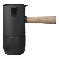 Stelton Collar Steel Espresso Maker, Black