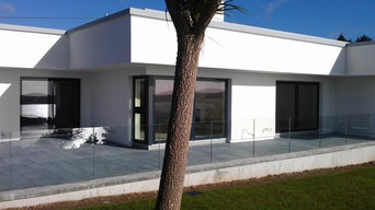 Tony O Shea completed work. This is the svarre units. Windows and sliding doors.