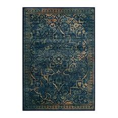 Attractive Safavieh   Safavieh Vintage Inspired Rug, Blue/Yellow, 8u0027x11u00272