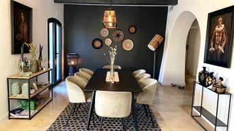 Décoration intérieur et modification chambre parentale Bastide La Milane