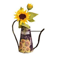 Your Heart's Delight Sunflower Watering Can