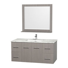 48 in. Vanity Set in Gray Finish
