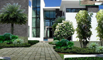 MIAMI BEACH PROPOSAL - FULL PROPERTY LANDSCAPING -DESIGN RENDERS