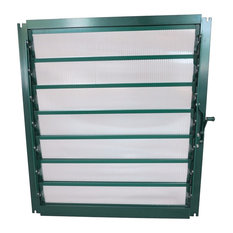 Grandio Greenhouse Wall Louver Window, Without Auto Opener
