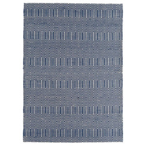 Sloan Sloan Blue Rectangle Modern Rug 160x230cm
