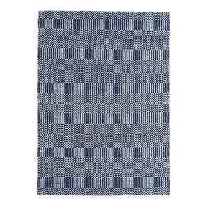 Sloan Sloan Blue Rectangle Modern Rug 160x230cm