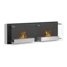Moda Flame Faro Wall Mounted Ethanol Fireplace