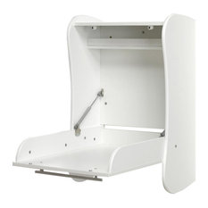 Flora Wall-Mounted Baby Changing Table, White