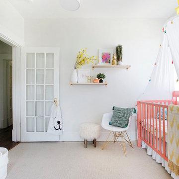 Historic Renovation (Girl Nursery)
