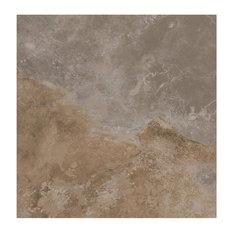 Floor Tiles, Matte Brown, Set of 5 m²
