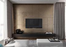 Стена за телевизором