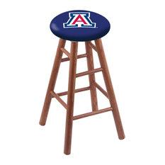 Oak Counter Stool Medium Finish With Arizona Seat 24-inch