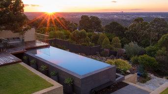 The Lesmurdie Infinity Edge Pool - SPASA WA 2015 Pool of the Year