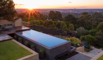 The Lesmurdie Infinity Edge Pool - SPASA WA 2015 Pool of the Year