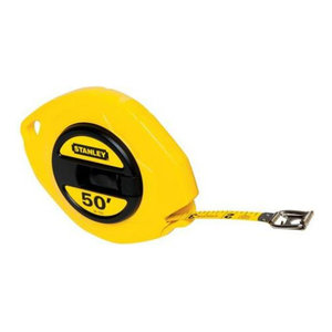 Stanley Closed Case Long Tape 3/8