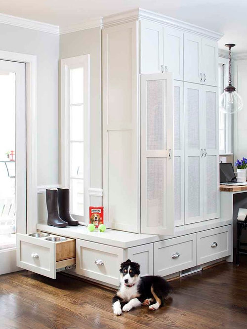 Pull-Out Dog Bowl Home Design Ideas, Pictures, Remodel and Decor
