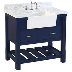 Contemporary Bathroom Vanities And Sink Consoles by Kitchen Bath Collection