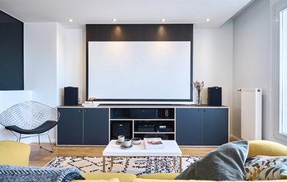 10 manières d'intégrer un vidéo-projecteur pour remplacer la télé