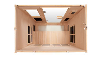 "Far Infrared Sauna ""Essential"" for 3 Persons"