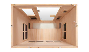 """Far Infrared Sauna """"Essential"""" for 3 Persons"""