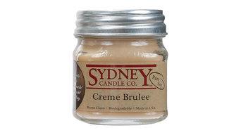 Creme Brulee 8oz Mason Jar Pure Soy Candle