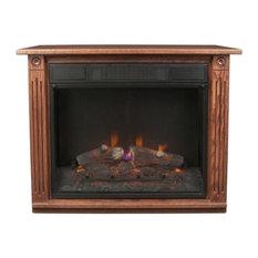 Wonderful Dutch Legacy   Dark Oak Electric Fireplace   Indoor Fireplaces
