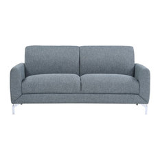 Lexicon Venture Upholstered Sofa In Blue